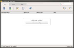 Capture d'ecran du logiciel Iperius Backup Free 5.8.1 fr