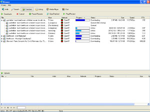 Capture d'écran du logiciel KCeasy 0.19 RC1 fr