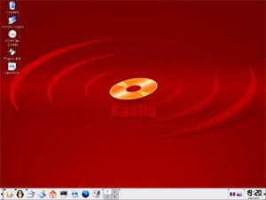 Capture d'écran du logiciel Kaella 3.2 fr - DVD Pack