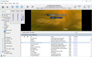 Capture d'ecran du logiciel KaraFun Player 2.6.1.1 fr