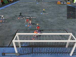 Capture d'écran du logiciel Kicks Online 1.40 fr