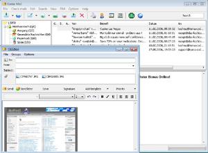 Capture d'écran du logiciel Koma-Mail 3.83 fr