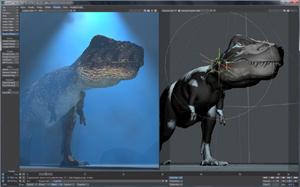 Capture d'écran du logiciel NewTek LightWave 3D 2015-3 fr