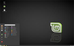 Capture d'ecran du logiciel Linux Mint 18.3 fr