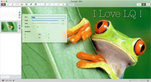 Capture d'écran du logiciel LiveQuartz 2.5.16 fr