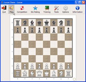 Capture d'ecran du logiciel Lucas Chess 11.13a fr