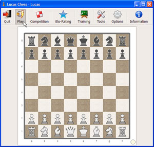 Capture d'ecran du logiciel Lucas Chess 11.15b fr
