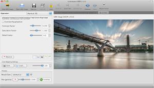 Capture d'ecran du logiciel Luminance HDR 2.5.1.1 fr - Mac