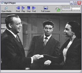 Capture d'écran du logiciel MP4 Player 4.0