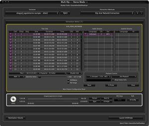 Capture d'écran du logiciel MacTheRipper 5.1.0.1
