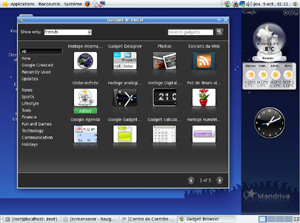 Capture d'écran du logiciel Mandriva Linux 2011 - DVD x86_64