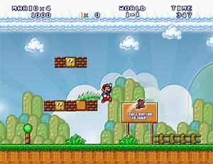 Capture d'ecran du logiciel Mario Forever 7.02-31 Beta
