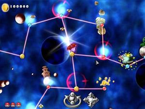 Capture d'écran du logiciel Mario Forever Galaxy 1.8