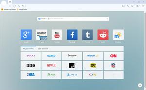 Capture d'ecran du logiciel Maxthon Cloud Browser 5.3.8.2000 fr