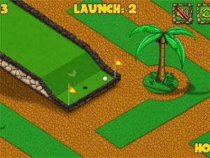 Capture d'ecran du logiciel Mini Golf Simulator 1.0