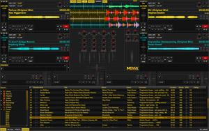 Capture d'écran du logiciel Mixxx 2.1.0 - Linux