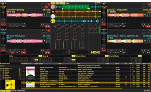 Capture d'écran du logiciel Mixxx 2.0.0 - MacOS