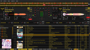 Capture d'ecran du logiciel Mixxx Portable 2.1.4 - Windows