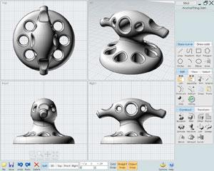 Capture d'écran du logiciel MoI 3.0 fr