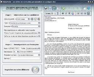 Capture d'écran du logiciel MobaMotiv 1.1 fr