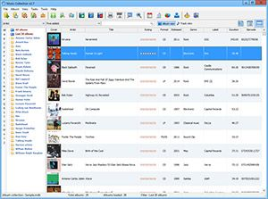 Capture d'ecran du logiciel Music Collection 3.2.7.2 fr