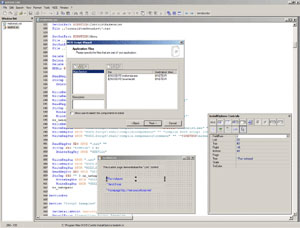 Capture d'écran du logiciel NSIS 3.0.1 fr