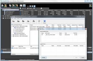 Capture d'ecran du logiciel NTFS Recovery Toolkit 13.0.0