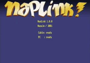 Capture d'ecran du logiciel Naplink 1.0.1a