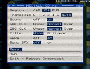 Capture d'écran du logiciel Neo4All/CD RC4