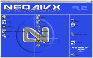 Capture d'ecran du logiciel NeoDivX 9.2 fr Crystal Fusion