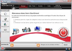 Capture d'écran du logiciel Nero Platinum 2018 1.11.0.19 fr