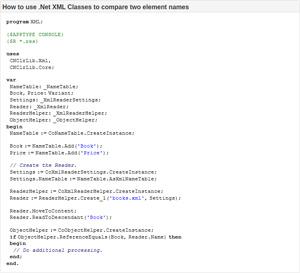 Capture d'ecran du logiciel .Net Runtime Library for Delphi 6.0.6.1