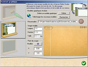 Capture d'écran du logiciel Netlor Studio 3.158 fr