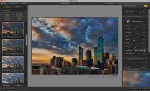 Capture d'écran du logiciel Nik Collection 1.2.11 - MacOS