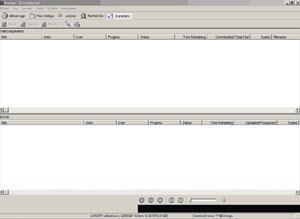 Capture d'écran du logiciel Omega 1.6 fr
