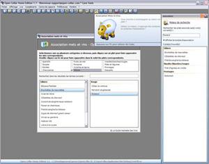 Capture d'écran du logiciel Open Cellar 1.2 fr