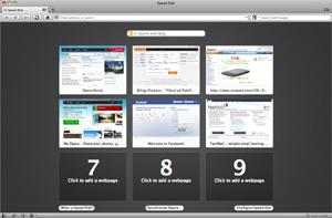 Capture d'écran du logiciel Opera 54.0.2952.60 fr - MacOS