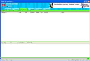 Capture d'écran du logiciel Overnet 0.53a fr