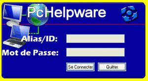 Capture d'écran du logiciel PCHelpWare 1.0 fr