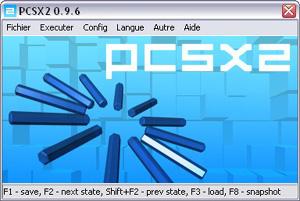 Capture d'écran du logiciel PCSX2 1.4.0 fr