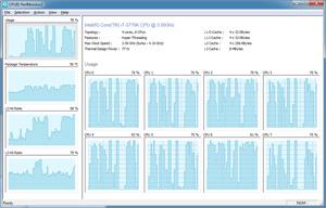 Capture d'écran du logiciel PerfMonitor 2 2.0.4