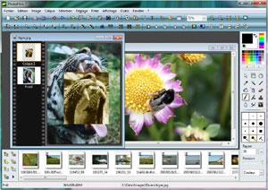 Capture d'écran du logiciel PhotoFiltre 7.2.1 fr
