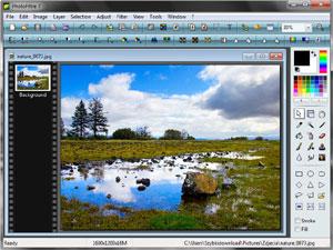 Capture d'écran du logiciel PhotoFiltre Portable 7.2.1 fr