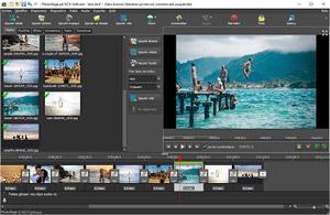 Capture d'ecran du logiciel PhotoStage 5.16 fr