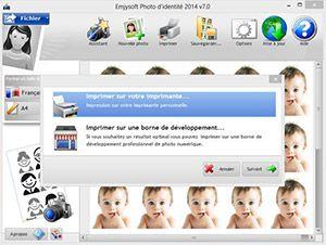 Capture d'écran du logiciel Photo d'identité 2017 10.9