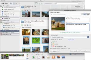 Capture d'écran du logiciel Picasa 3.9.140.296 - MacOS