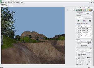 Capture d'écran du logiciel PnP TerrainCreator 1.2.2