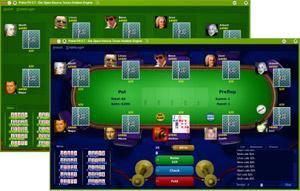 Capture d'écran du logiciel PokerTH 1.1.2 fr