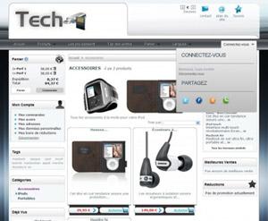 Capture d'ecran du logiciel PrestaShop 1.7.6.0 fr