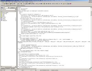 Capture d'écran du logiciel Purple Editor Pro 5.5 fr